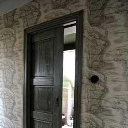 zelene dvere posuvne masiv mini